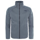 """The North Face Youth Canyonlands Zip Fleece Jacket TNF Medium Grey Heather"""